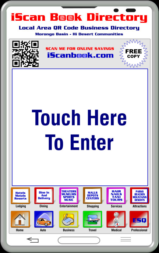 Touch Here To Enter